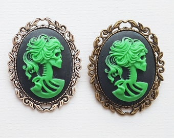 Black and Green Zombie Brooch 913289c071f0