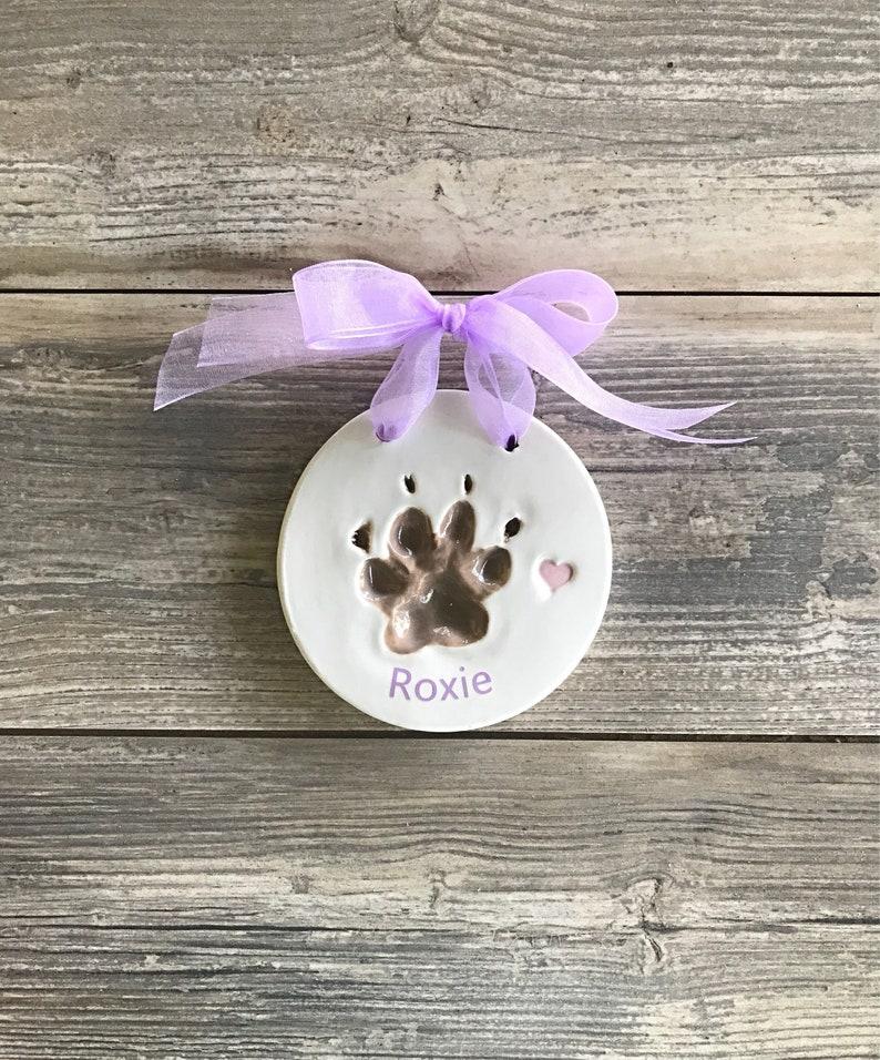 Dog Paw Print - Cat Paw Print - Dog Paw Memorial Gift - Pet Paw Imprint -  Dog Print Kit - Personalized Dog Print Memorial - Dog Lover Gift