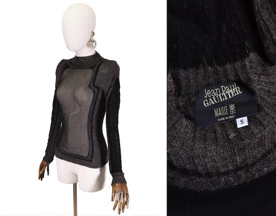 GAULTIER mesh top, 1990s Jean Paul Gaultier Maille