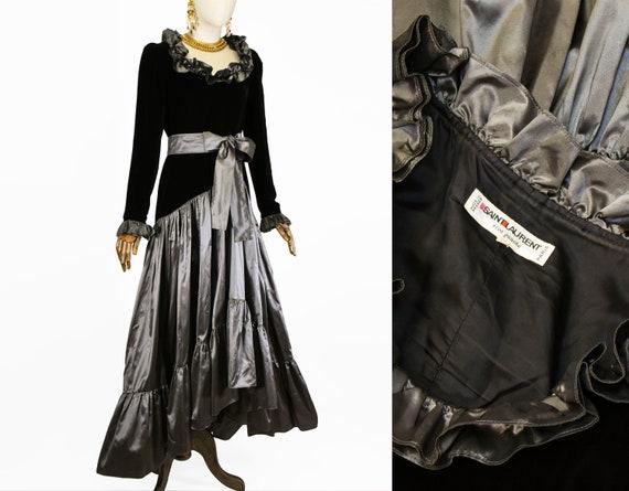 SAINT LAURENT dress, vintage Documented Saint Laur