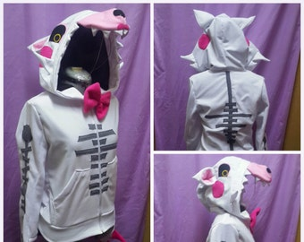 MADE TO ORDER - Mangle inspired hoodie from Five Nights at Freddys