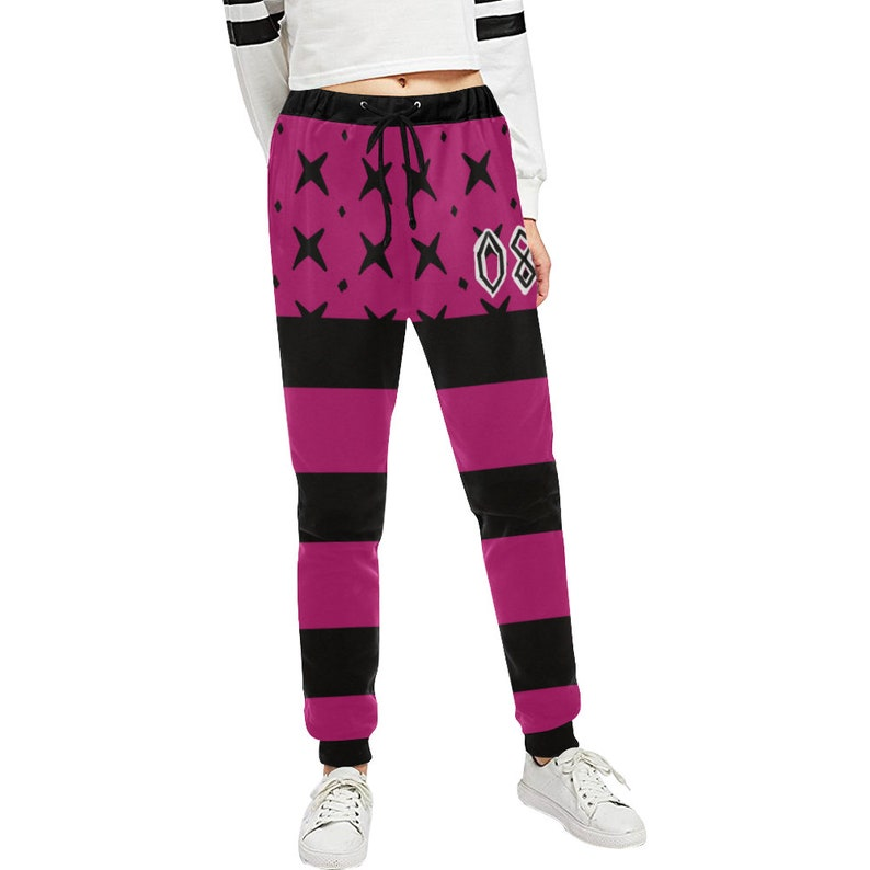 Team Yell printed fabric leggings
