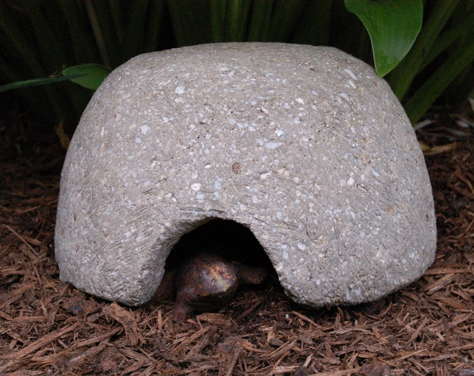 Hypertufa Toadhouse, Frog House, Outdoor Garden Decor  Handmade Toad House