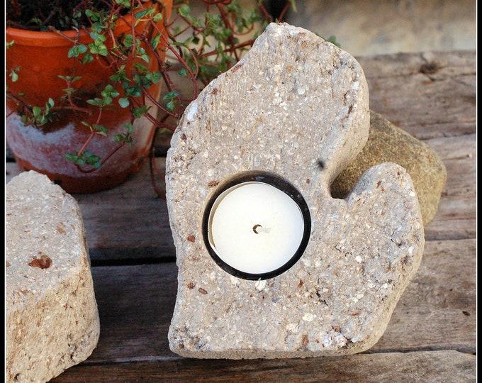 Mitten Tealight Candle Holder