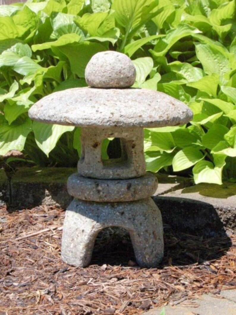 Hypertufa Garden Lantern  18