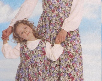 31e56f9726 Mother and Daughter Sundress outfit pattern UnCut Child 2