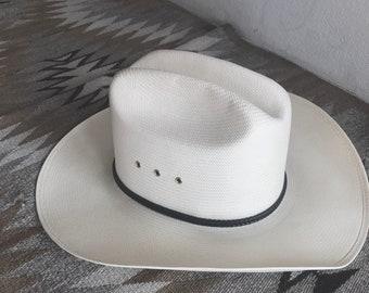 c87a67bdb58e7 VINTAGE RESISTOL Western Cowboy Ranchers Hat