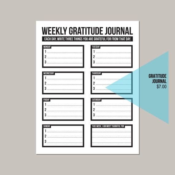 Bildergebnis für gratitude journal
