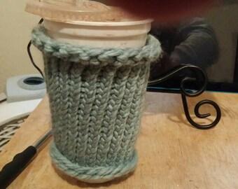 Mug, glass or water bottle cozy.