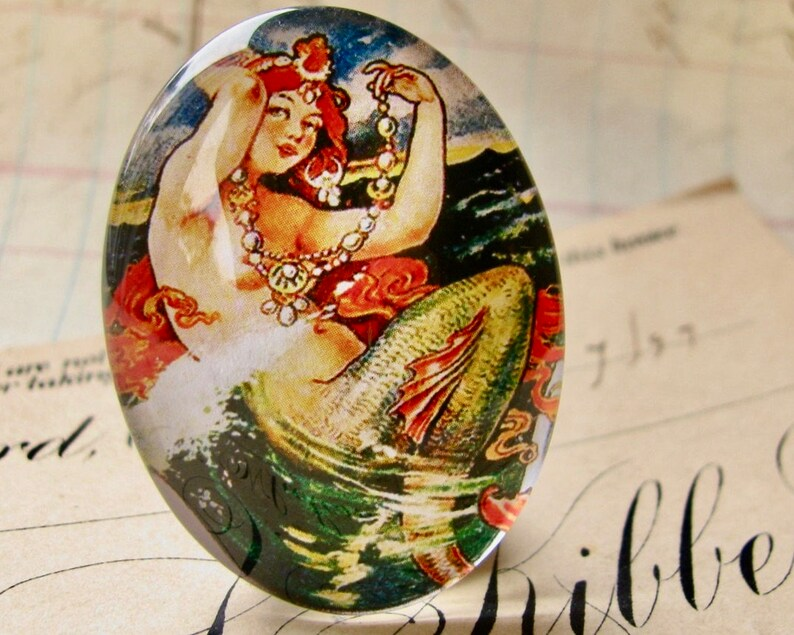 From our Magical Maidens collection vintage mermaid image 0