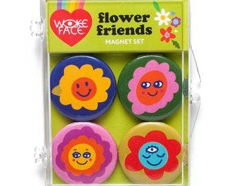 Flower Friends Magnet Set