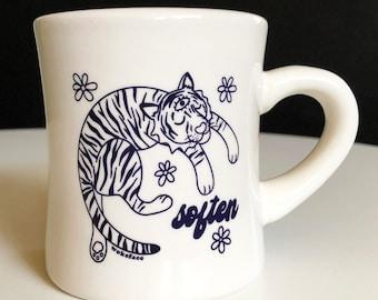 Tiger Soften Diner Mug