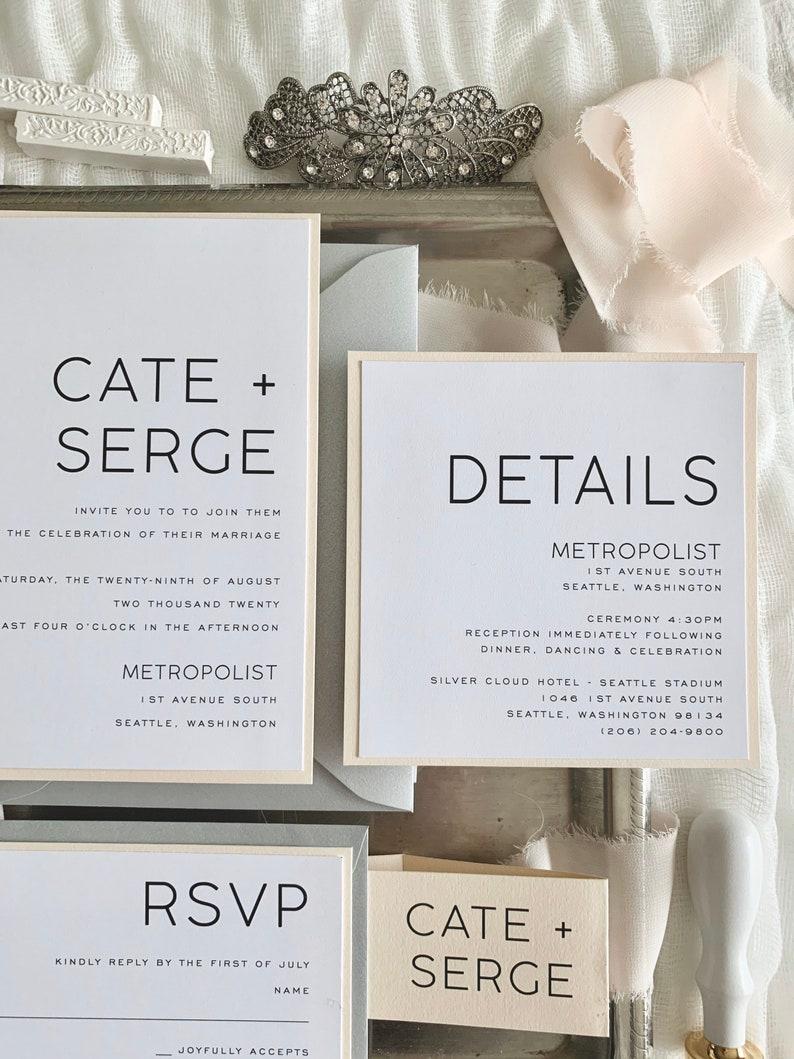Wedding Invitations Wedding Invites Invitation Set Style 237 Wedding Invitations