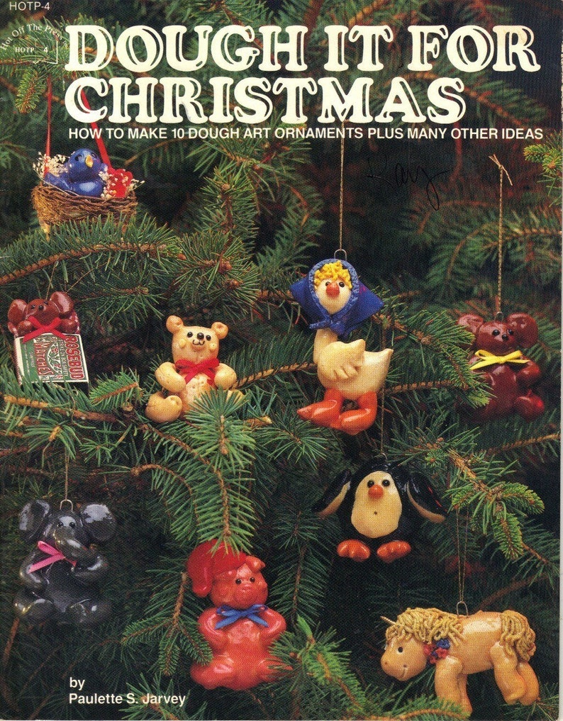 Christmas Leaflet Ideas.Dough It For Christmas Hot Off The Press Craft Pattern Leaflet