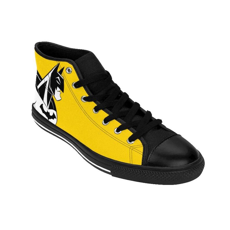 captain america Harley Quinn iron man high tops Dark Knight Shoes Batman Shoes Joker sneakers DC Comics