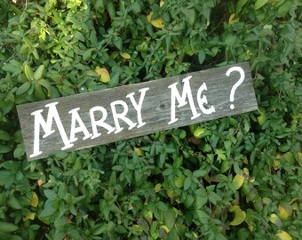 Country Proposal Sign / Rustic Proposal Sign / Wedding Proposal Sign / Marry Me Sign / Proposal Photo Prop / Proposal Sign / Marry Me