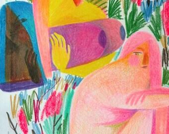 The Garden of We original artwork