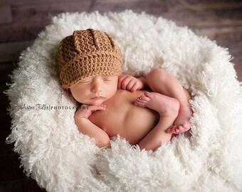 Newborn Hat, Newsboy Hat, Baby Boy Hat, Photography Prop