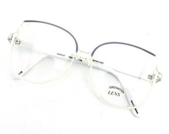 68a2421590 80s white glasses