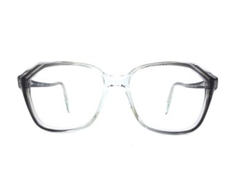 fbdf0a89f8 vintage 60s eyeglasses NOS eye glasses retro mens glasses womens vintage  eyeglasses gray eyeglass frames eyewear