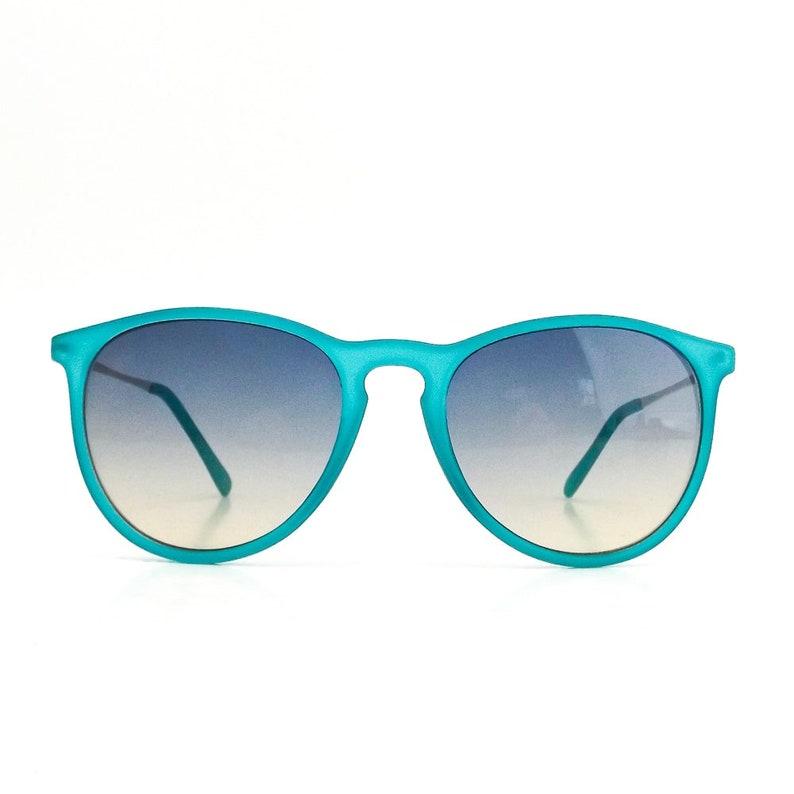 f00bee5c6a6 Round 90s sunglasses blue sun glasses oversize men women