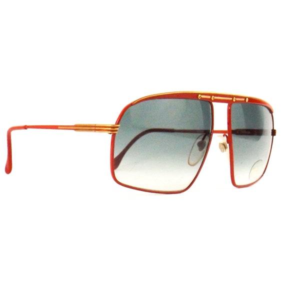 vintage sunglasses 70s 80s NOS tura   square flat… - image 1