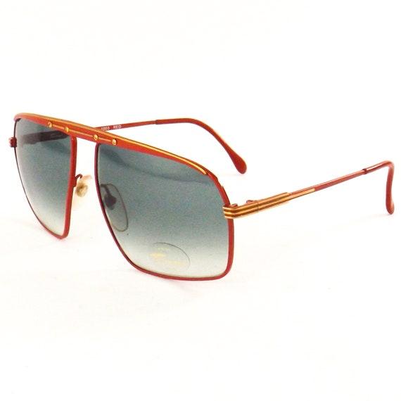 vintage sunglasses 70s 80s NOS tura   square flat… - image 3