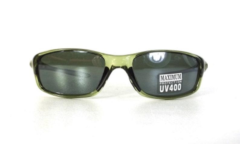 73b125a5e6c Wrap around sunglasses green sport sun glasses vintage