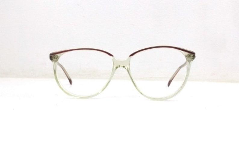 c3eca38e4b6 Purple browline glasses vintage 80s eyeglasses eye glasses
