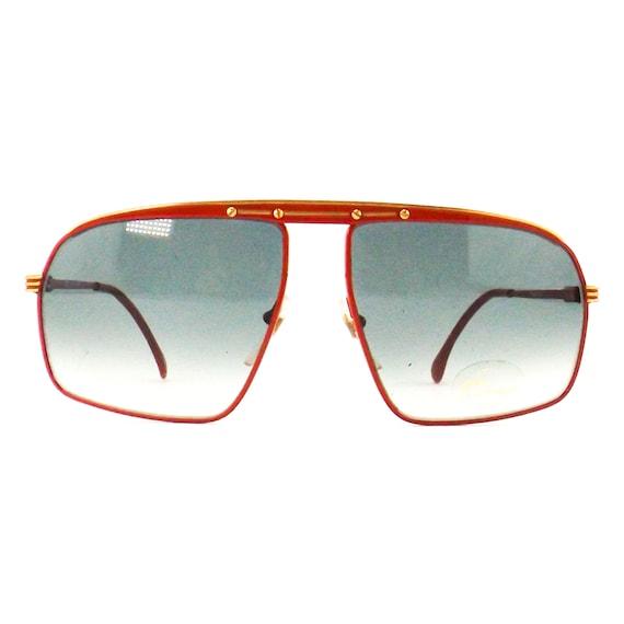 vintage sunglasses 70s 80s NOS tura   square flat… - image 2