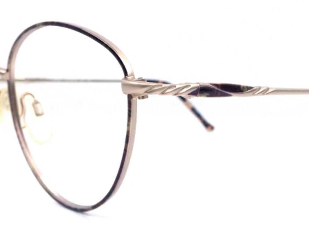 4f9548689 Gold eyeglass frames round metal eye glasses eyewear men   Etsy