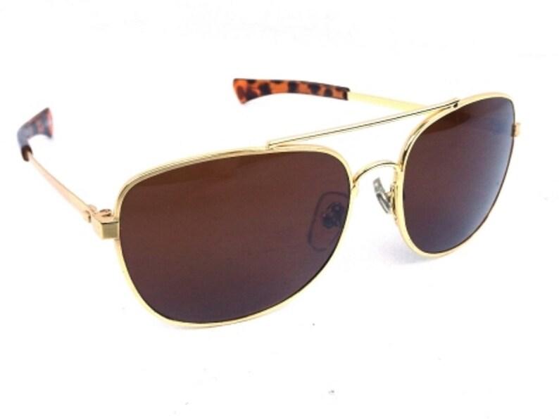 ac1c3cd230 Gold square sunglasses vintage 90s sun glasses eyewear men