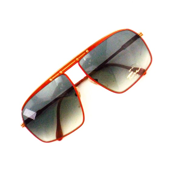 vintage sunglasses 70s 80s NOS tura   square flat… - image 6