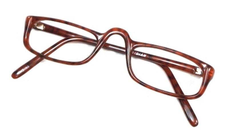1eb43717cd87 Eyeglass frames brown 70s reading glasses men women
