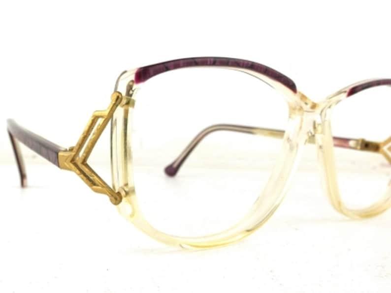 9037adf4aa77 Cazal style glasses vintage eye glasses women eyeglasses