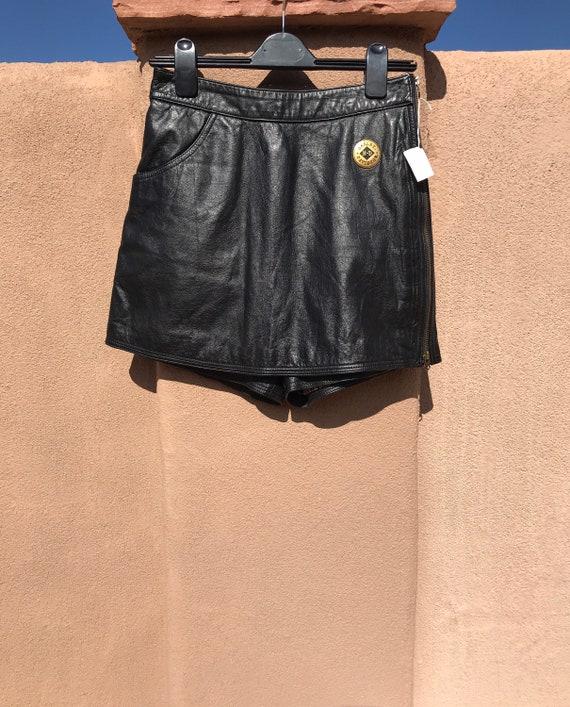 Harley Davidson Leather Skort