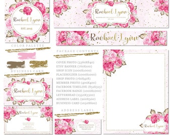 Premade DIY Etsy Business Set   Business Branding   Business Package   Etsy Shop   Small Business   Etsy Graphics   Etsy Designs