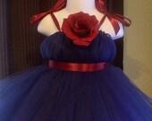 NEW Empire Wedding Flower Girl/Birthday Girls/Toddler/Infant STRAPS TuTu Dress Custom Made 33 Colors to Choose From