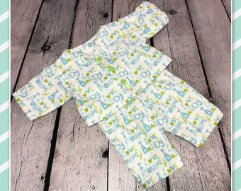 """PLAID BOWTIE for 16-18/"""" CPK Cabbage Patch Kids and many others"""