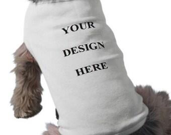 Dog T-Shirt - Custom Tee Shirt