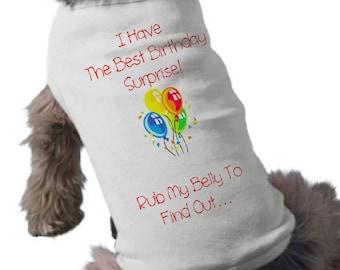 I'm Going To Be A Big Sister Dog Shirt - Dog T-Shirt - Birthday Pregnancy Announcement Dog Shirt - Pet Graphic Tee