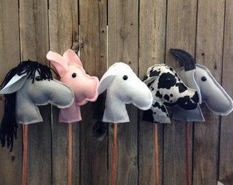 Farm Theme Stick Farm Animals