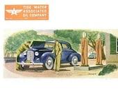 1946 Veedol Motor Oil Advertisement Print Ad Poster Petroleum Petroliana Automotive Automobile Car Mechanic Shop Garage Wall Art Home Decor
