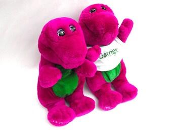 Original Barney Toy Etsy