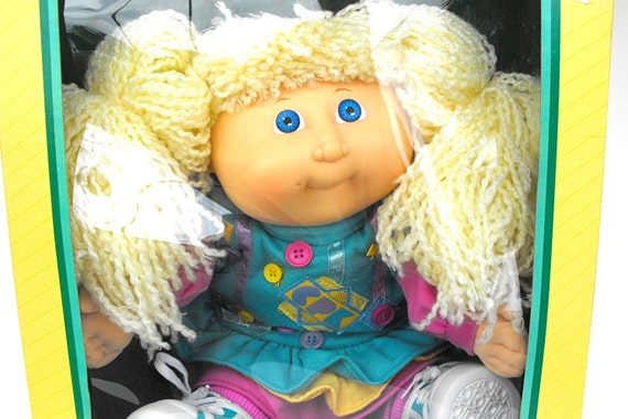 Rare Cabbage Patch Kid Designer Line Transition Collector Doll Etsy