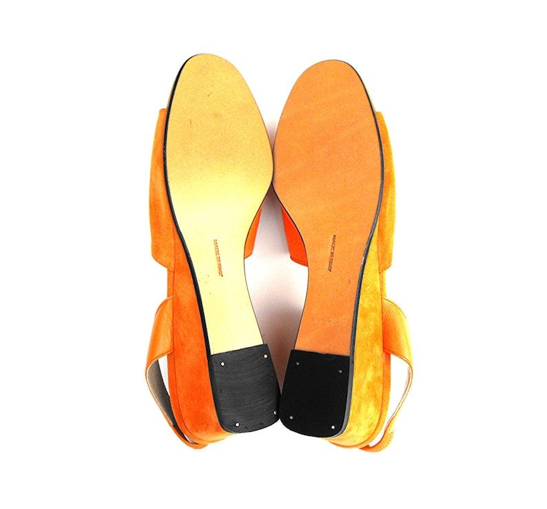 a8c5f1b1dbb 1960s Salvatore Ferragamo Wedge Sandals Rare Mid Century Mod