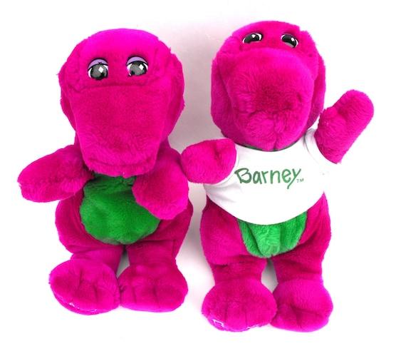 1992 Original Barney Friends First Season Stuffed Animal Etsy