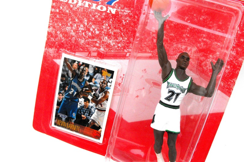 Vintage NBA Kevin Garnett Minnesota Timberwolves Starting  45dfd30bc