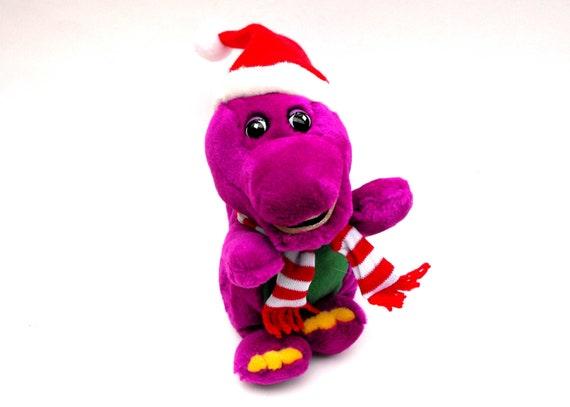 1992 Barney Friends Santa Claus First Season Tv Show Pbs Etsy