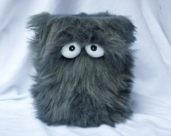 Kids Instruments Shaker - Furry Grey Handmade Durable Eco-Friendly Fun Coolest Shaker Drums Instruments For Kids